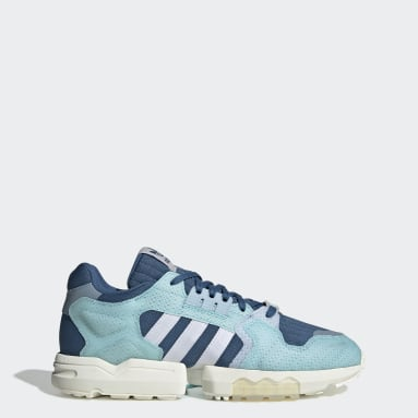 Chaussure ZX Torsion Parley Bleu Originals