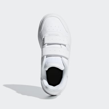 Zapatillas Hoops 2.0 Blanco Niño Essentials