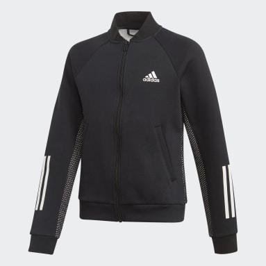 Girls Gym & Training Black ID Sweatshirt