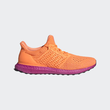 Running Orange Ultraboost Clima DNA Shoes