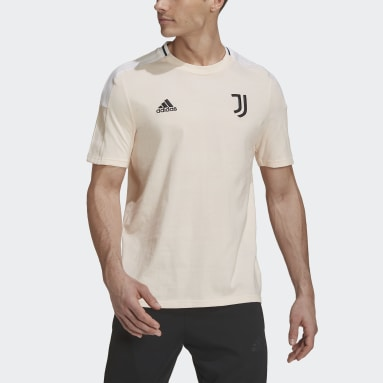 Men Football Pink Juventus Tee