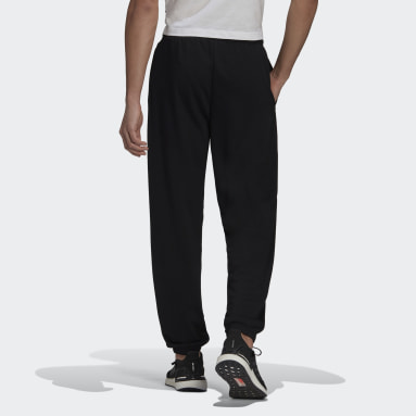 Men Sportswear Black Pants