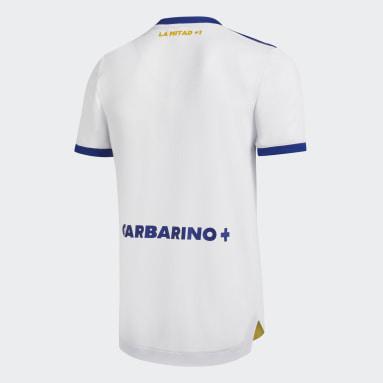 Camiseta Visitante Oficial Boca Juniors 20/21 Blanco Hombre Fútbol