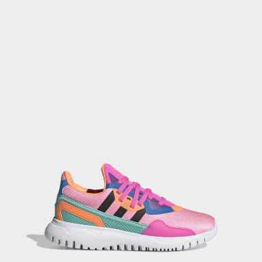 Youth Originals Pink Originals Flex Shoes
