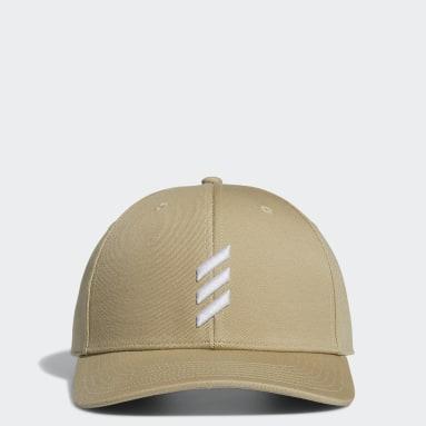 Men's Golf Beige Adicross Bold Stripe Hat