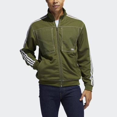 Men Originals Green Track Jacket