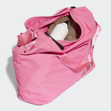 Dames Handbal Roze Oversize Schoudertas