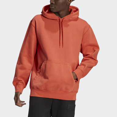 Hoodie Dyed Orange Hommes Originals