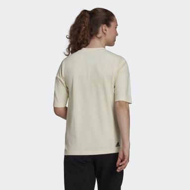 Playera adidas Z.N.E. Sportswear Blanco Mujer Sportswear