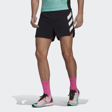 Pantalón corto Terrex Agravic Pro Trail Running Negro Hombre TERREX