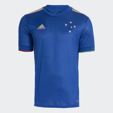 Camisa 1 Cruzeiro 20/21 Azul Homem Futebol