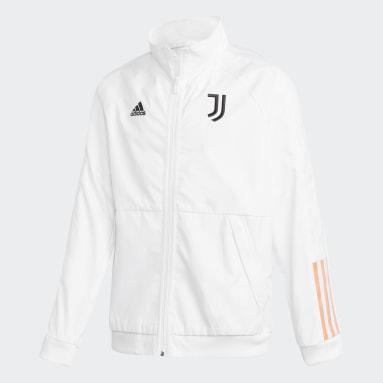 Børn Fodbold Hvid Juventus Anthem jakke