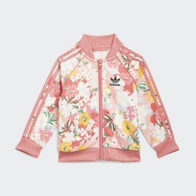 Girls Originals Pink HER Studio London Floral SST sæt