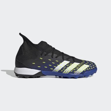 Men Soccer Black Predator Freak.3 Turf Shoes