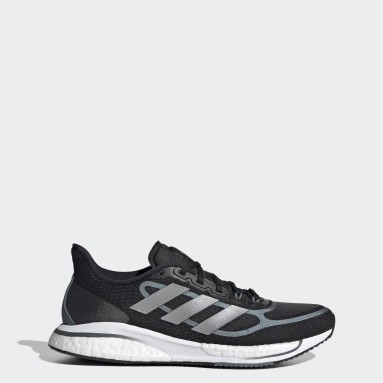 Women Running Black Supernova+ Shoes