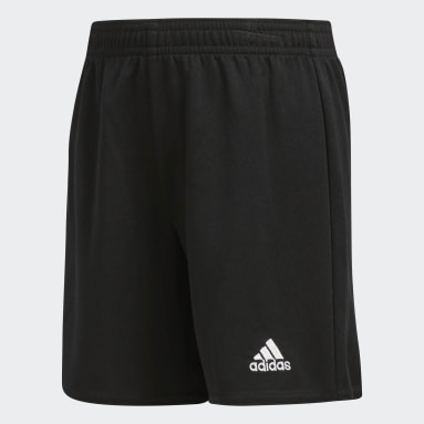 Children Soccer Black Parma Shorts