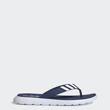 Yoga Blue Comfort Flip-Flops