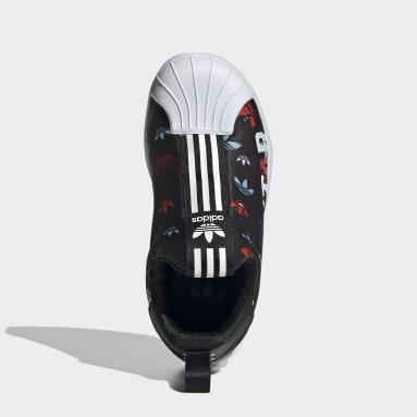 черный Кроссовки-слипоны Superstar 360 X
