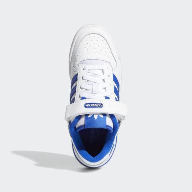 เด็ก Originals สีขาว รองเท้า Forum Low