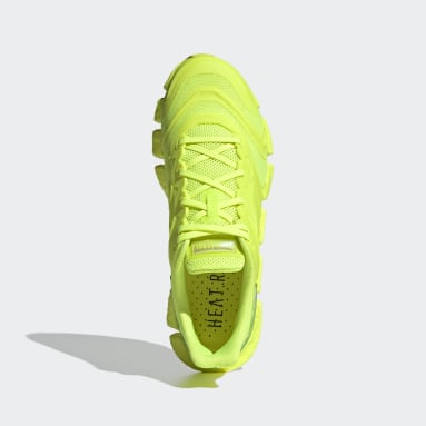 Sapatos HEAT.RDY Climacool Vento Amarelo Running