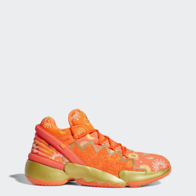 Men Basketball Orange Donovan Mitchell D.O.N. Issue #2 Shoes