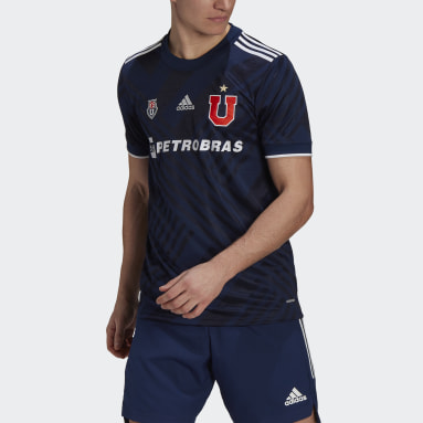 Camiseta Local Club Universidad de Chile 20/21 (UNISEX) Azul Hombre Fútbol