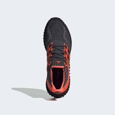 Men Running Black Ultra 4D 5 Shoes