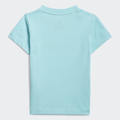 adidas SPRT Collection Graphic T-skjorte Blå