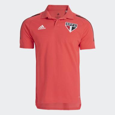 Camisa Polo São Paulo FC Rosa Homem Futebol