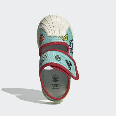 Infants Originals สีเขียว SUPERSTAR 360 SNDL I PRIMEBLUE