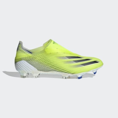 Chaussure X Ghosted+ Terrain souple Jaune Football
