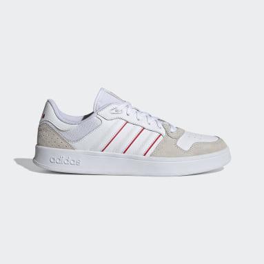 Zapatillas Breaknet Plus Blanco Hombre Diseño Deportivo