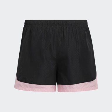 Youth Training Black Colorblock Shorts