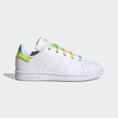 Children Originals Grey Stan Smith Shoes