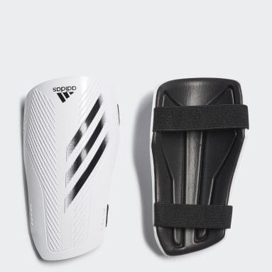 Protège-tibias X 20 Training blanc Soccer