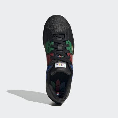 Zapatillas Superstar Pure (UNISEX) Negro Niño Originals