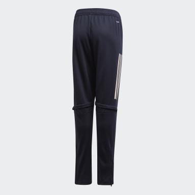 Kids Football Blue Juventus Training Pants