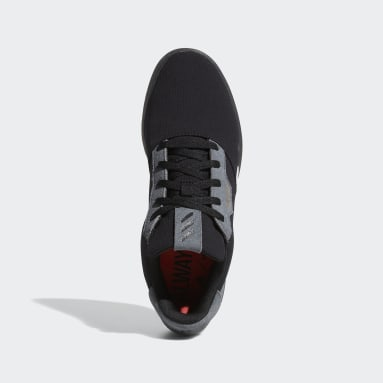 Golf čierna Obuv Adicross Retro Spikeless
