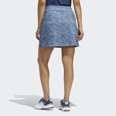 Women Golf Blue Ultimate365 Primegreen Printed Skirt