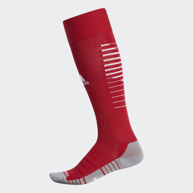 Soccer Red Team Speed 2 Socks