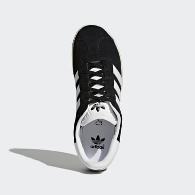 Chaussure Gazelle noir Adolescents Originals