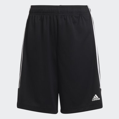 Boys Football Black Sereno Shorts