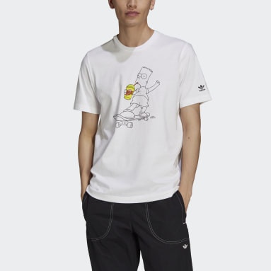 Men Originals White The Simpsons Squishee Tee