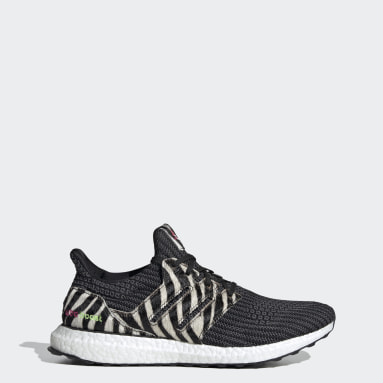 Running Black Ultraboost DNA Zebra Shoes