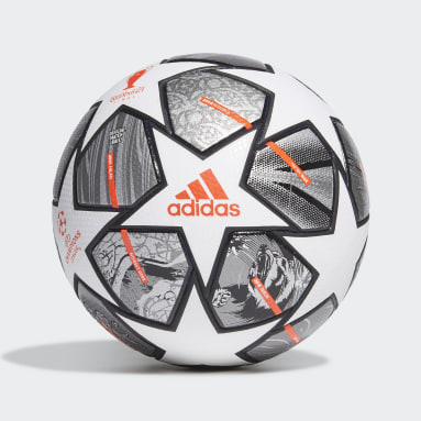 Men Soccer White Finale 21 20th Anniversary UCL Pro Ball