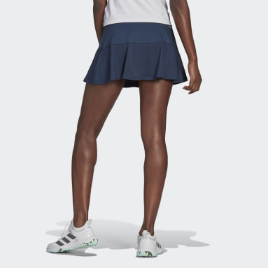 Frauen Tennis Tennis Match Rock Blau