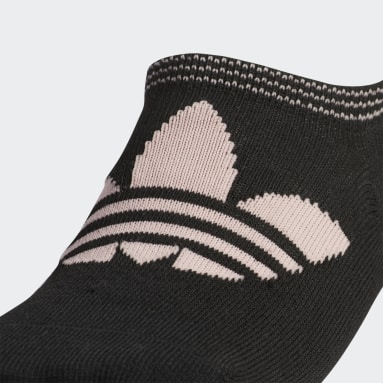 Women Originals Pink Trefoil Superlite No-Show Socks 6 Pairs