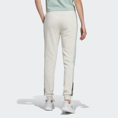 Pantalón adidas Essentials Logo Colorblock Blanco Mujer Essentials