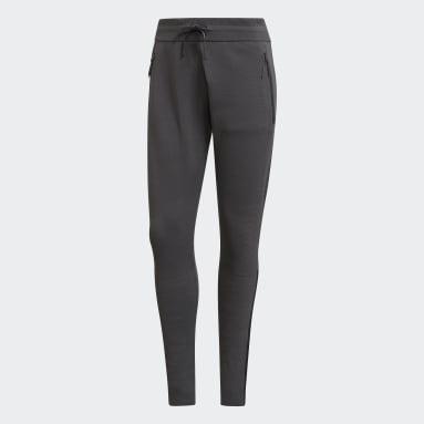 Women Sportswear Grey adidas Z.N.E. Primeknit Pants