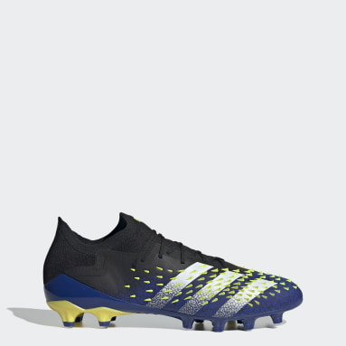 Football Black Predator Freak.1 Artificial Grass Boots